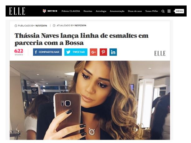 Elle Brasil_Julho 2016