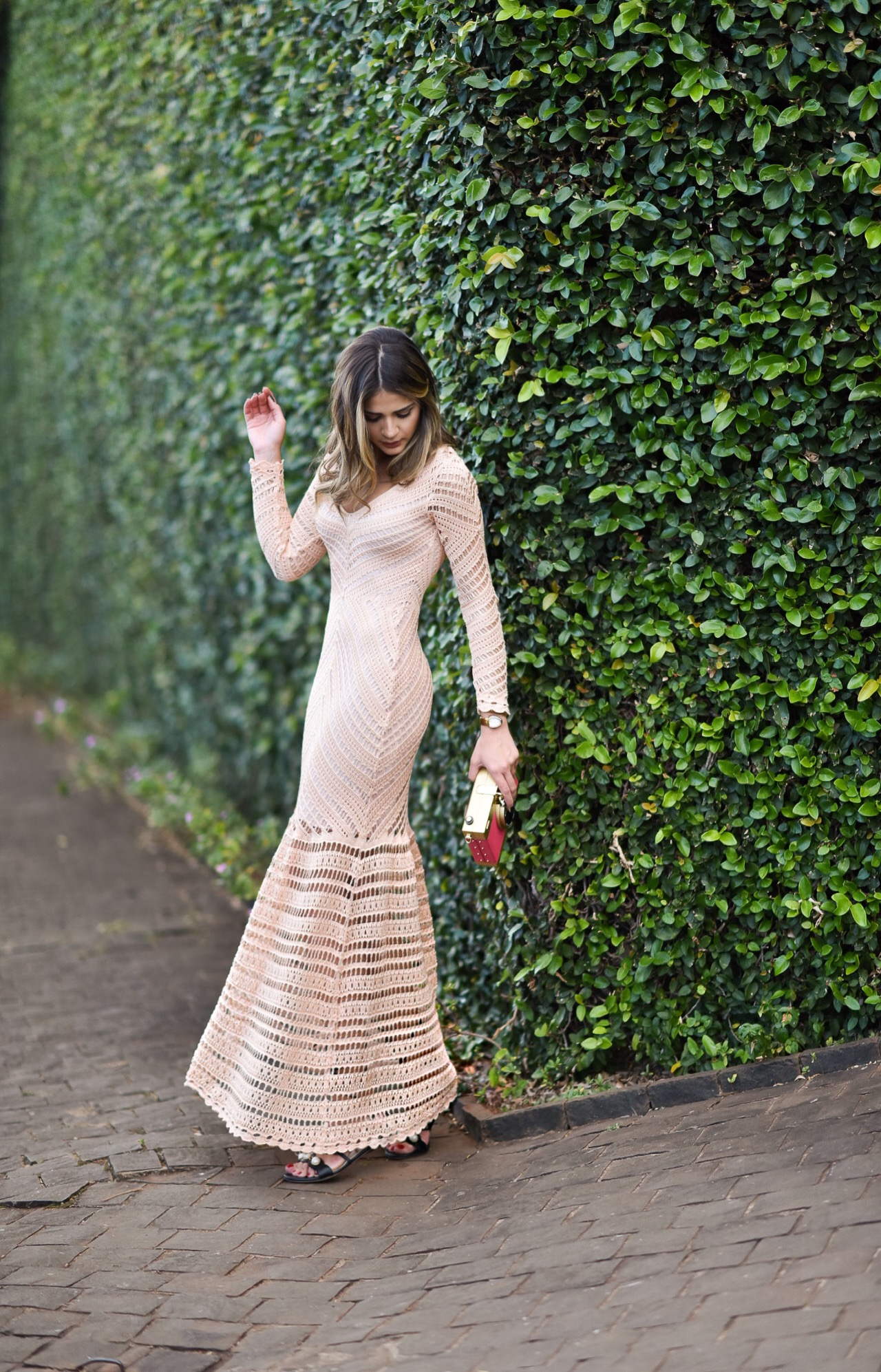 Vestido de Tricot Longo_Galeria Tricot_Thassia Naves