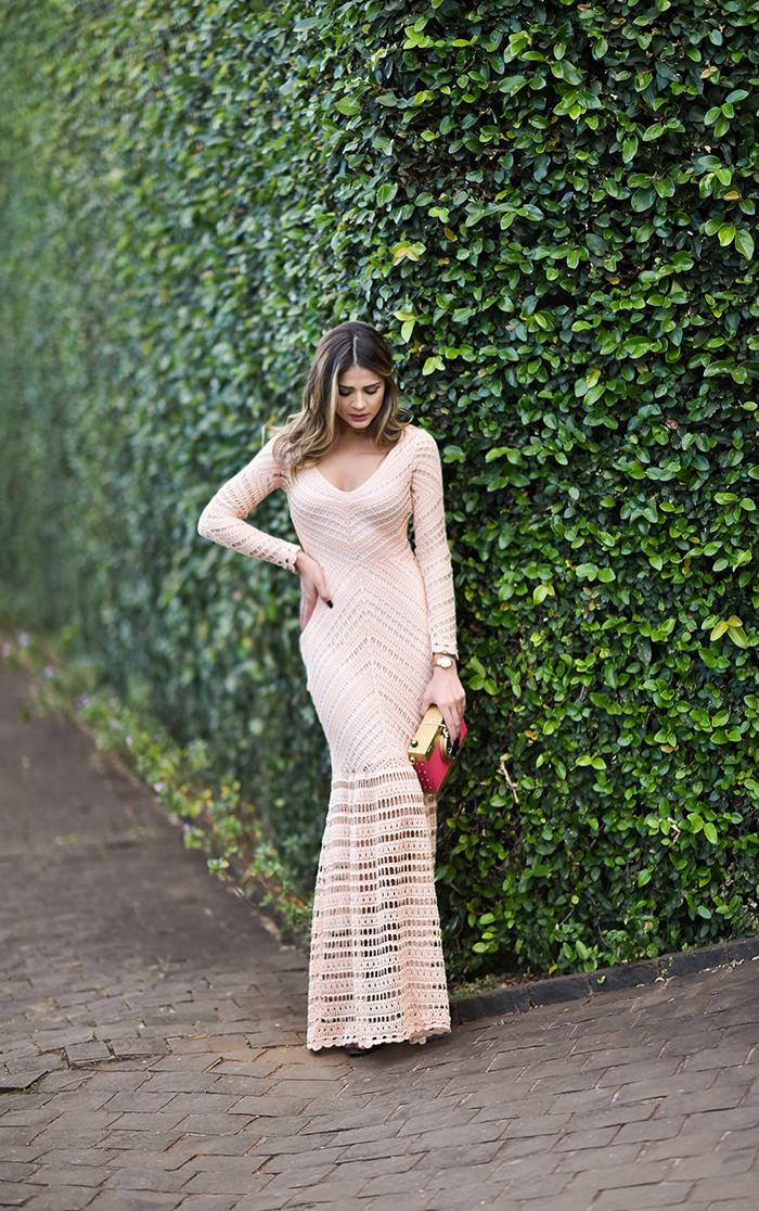 Vestido de Tricot Longo_Galeria Tricot_Thassia Naves_1