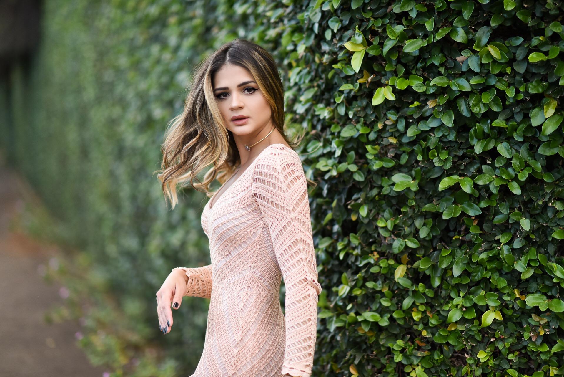 Vestido de Tricot Longo_Galeria Tricot_Thassia Naves_3