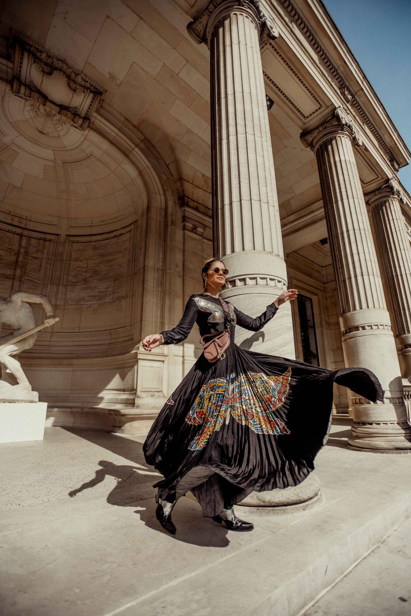Thassia de Fendi na PFW6