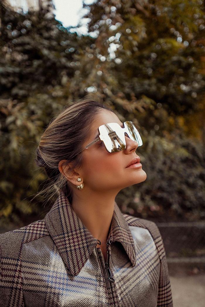 Thassia de Fendi em Paris