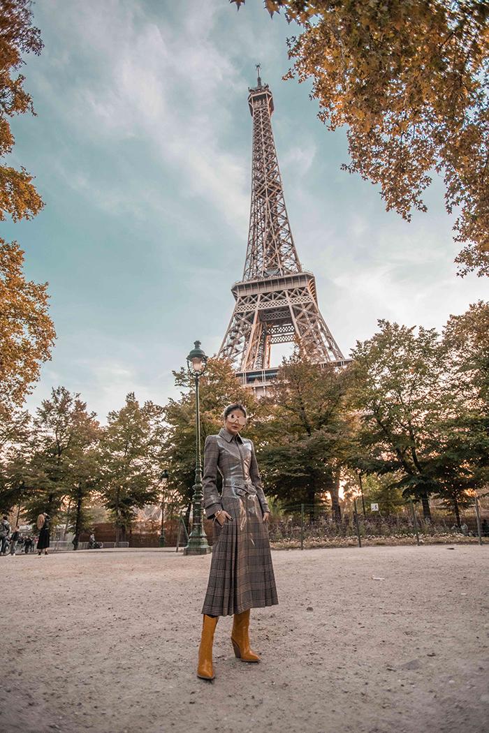 Thassia de Fendi em Paris2