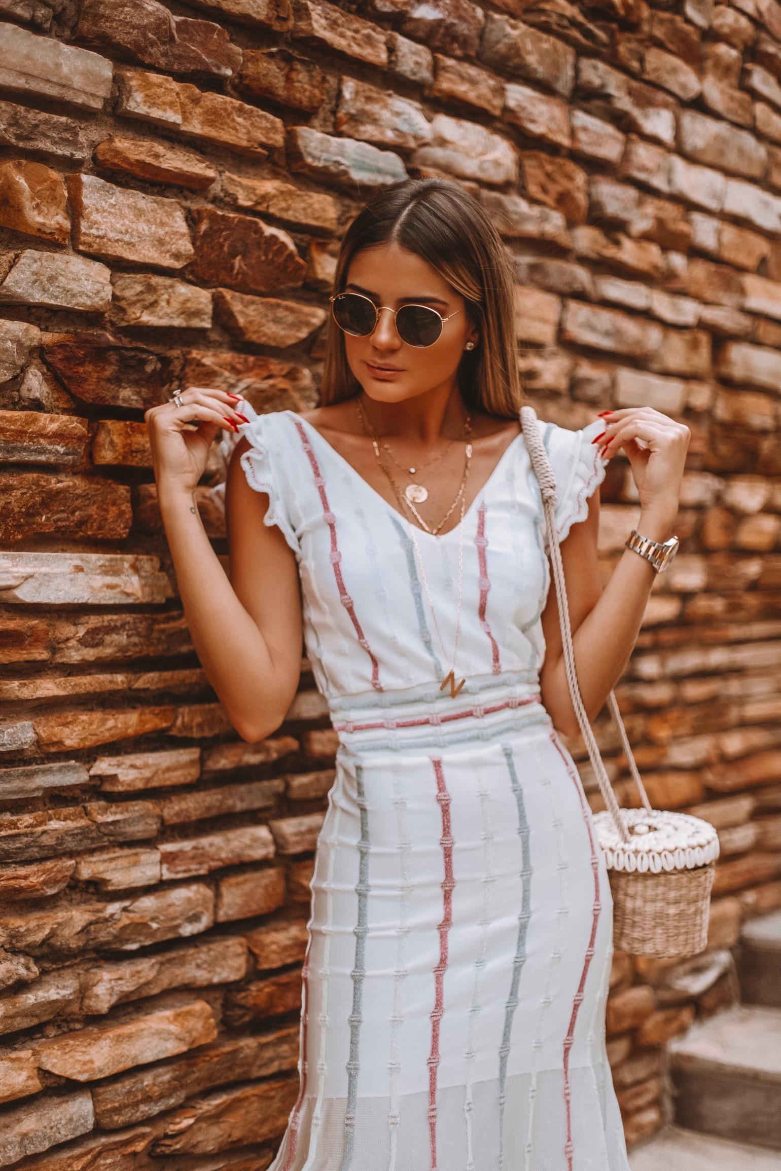 Thássia vestido branco galeria tricot 2