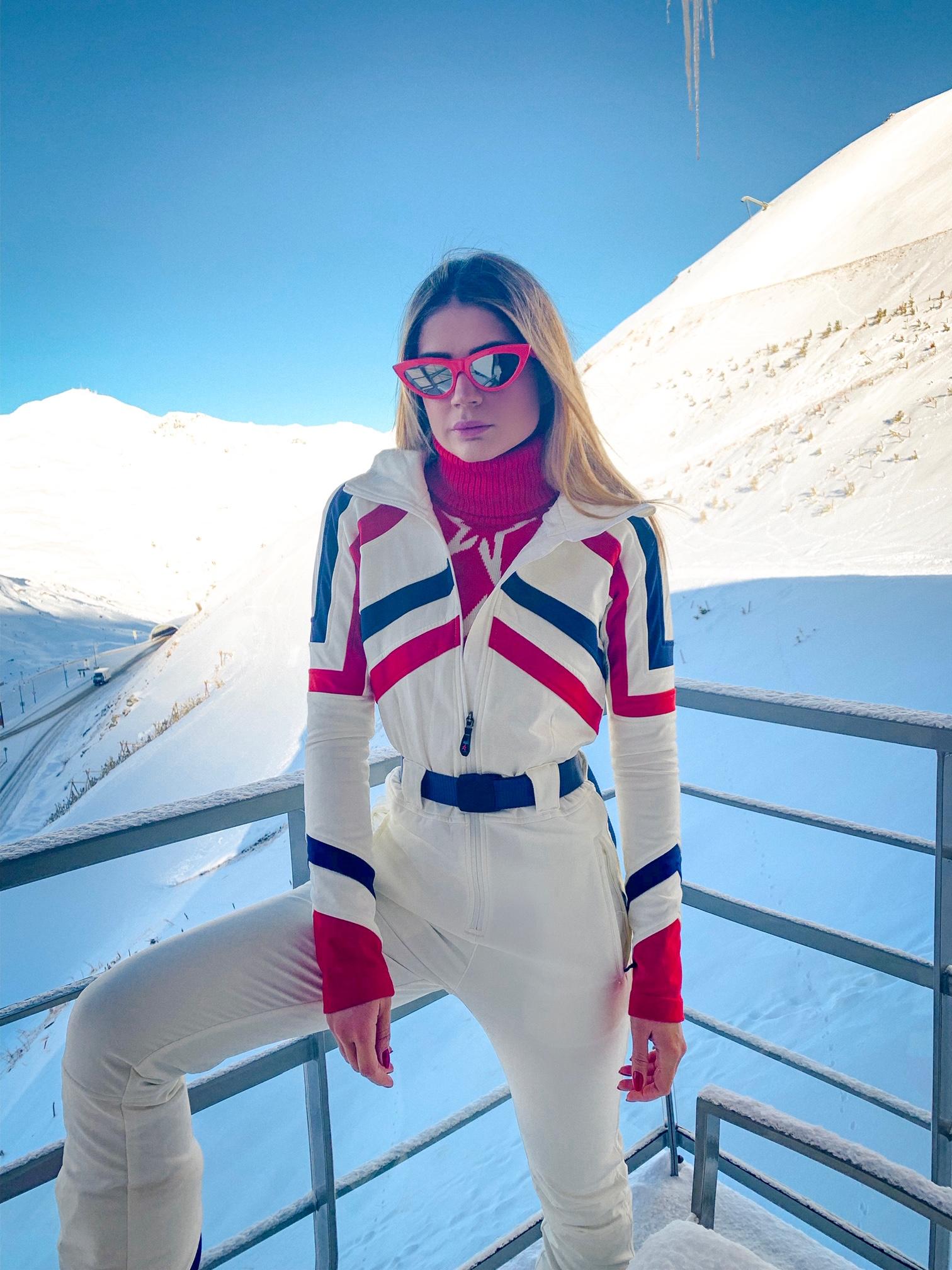 Thássia esqui Val Thorens 10