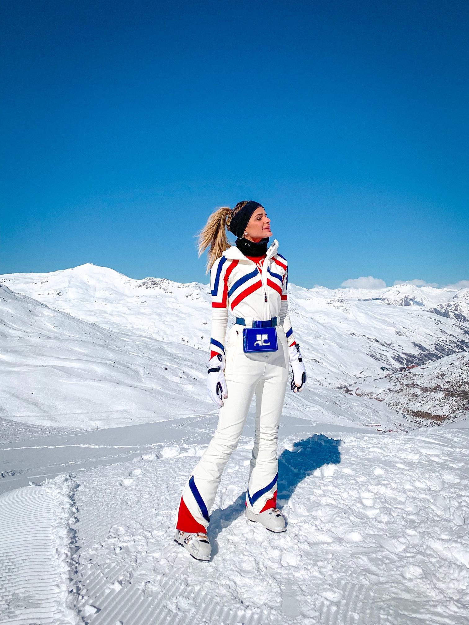 Thássia esqui Val Thorens 3