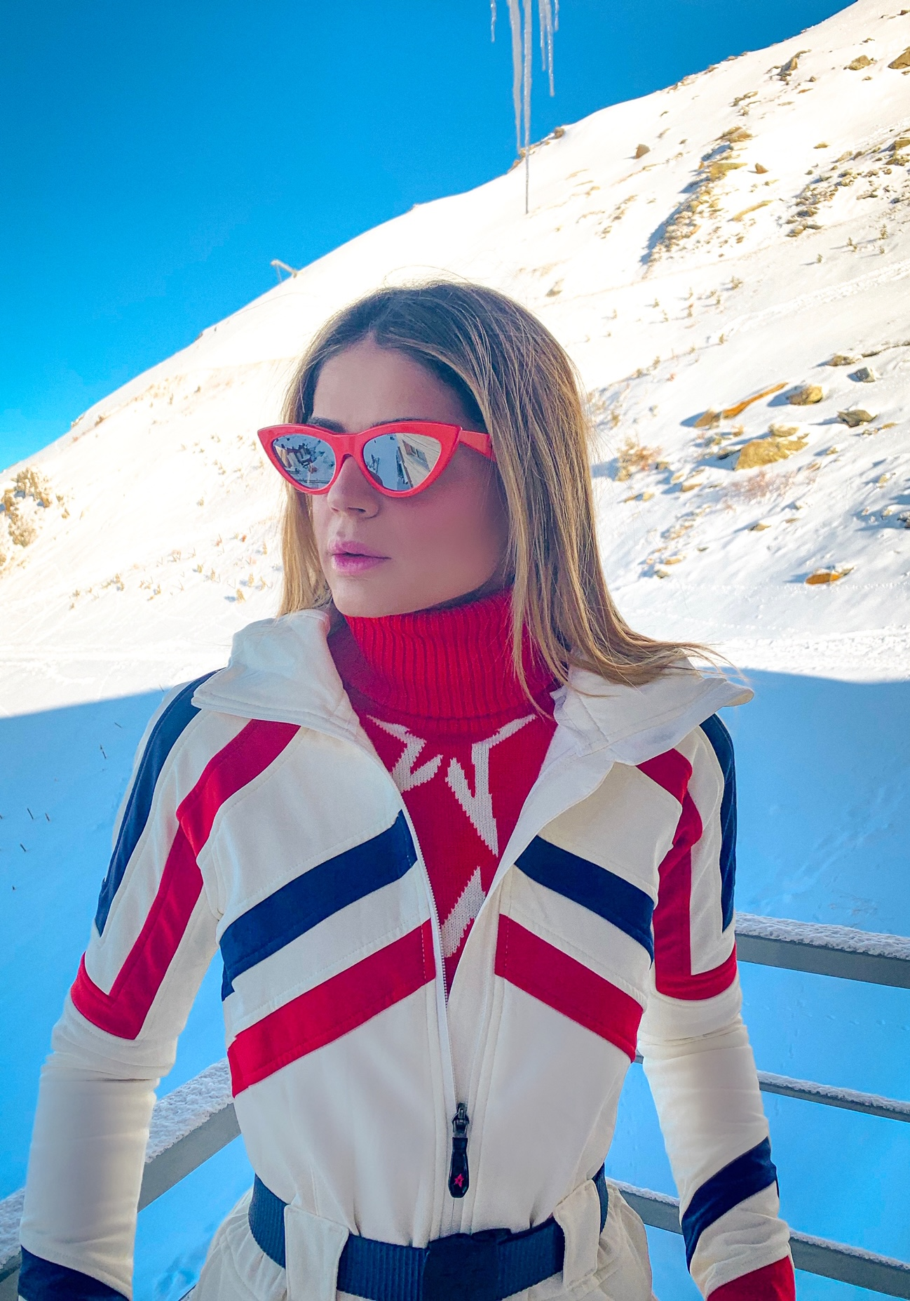 Thássia esqui Val Thorens 9