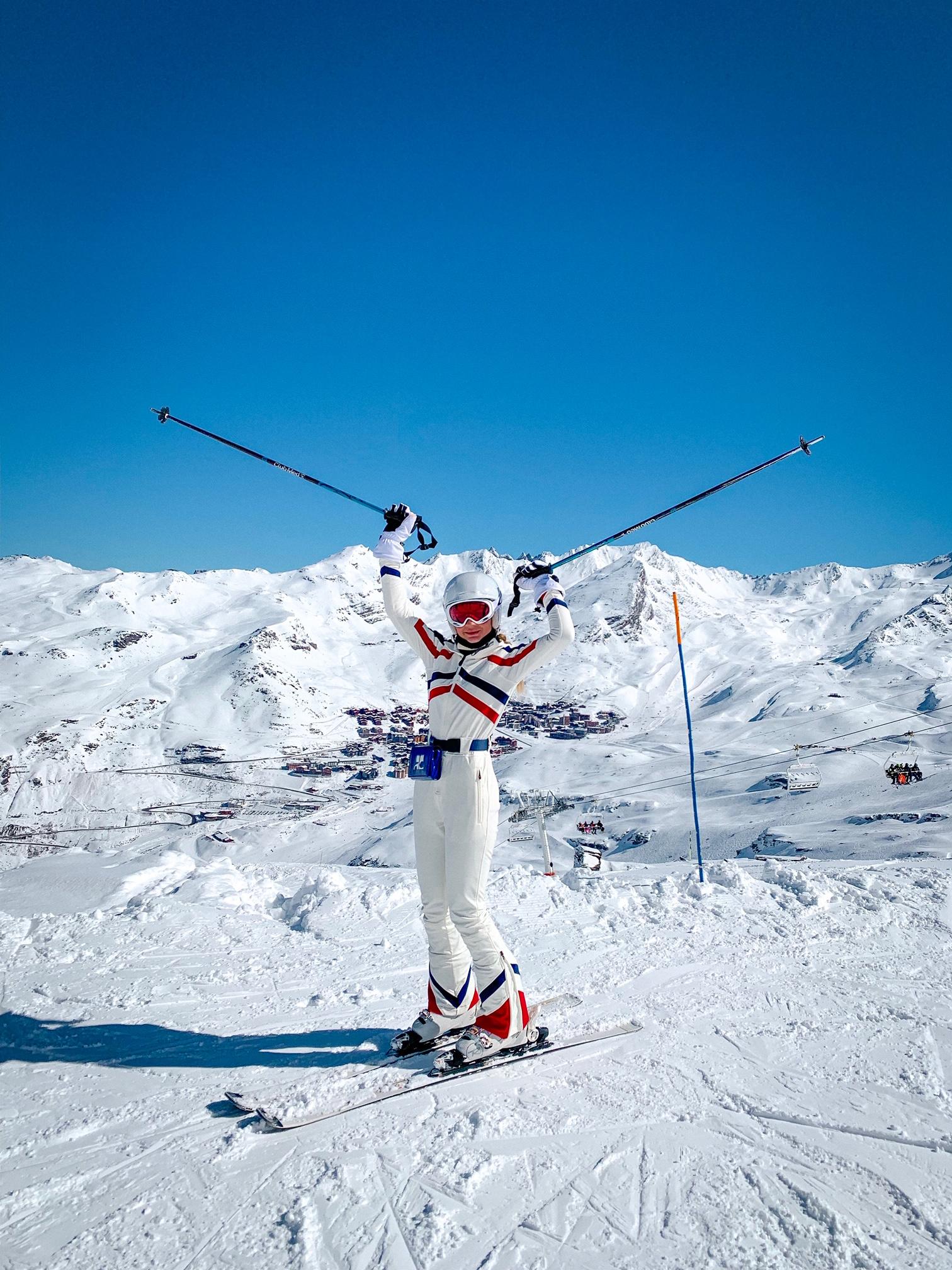 Thássia esqui Val Thorens