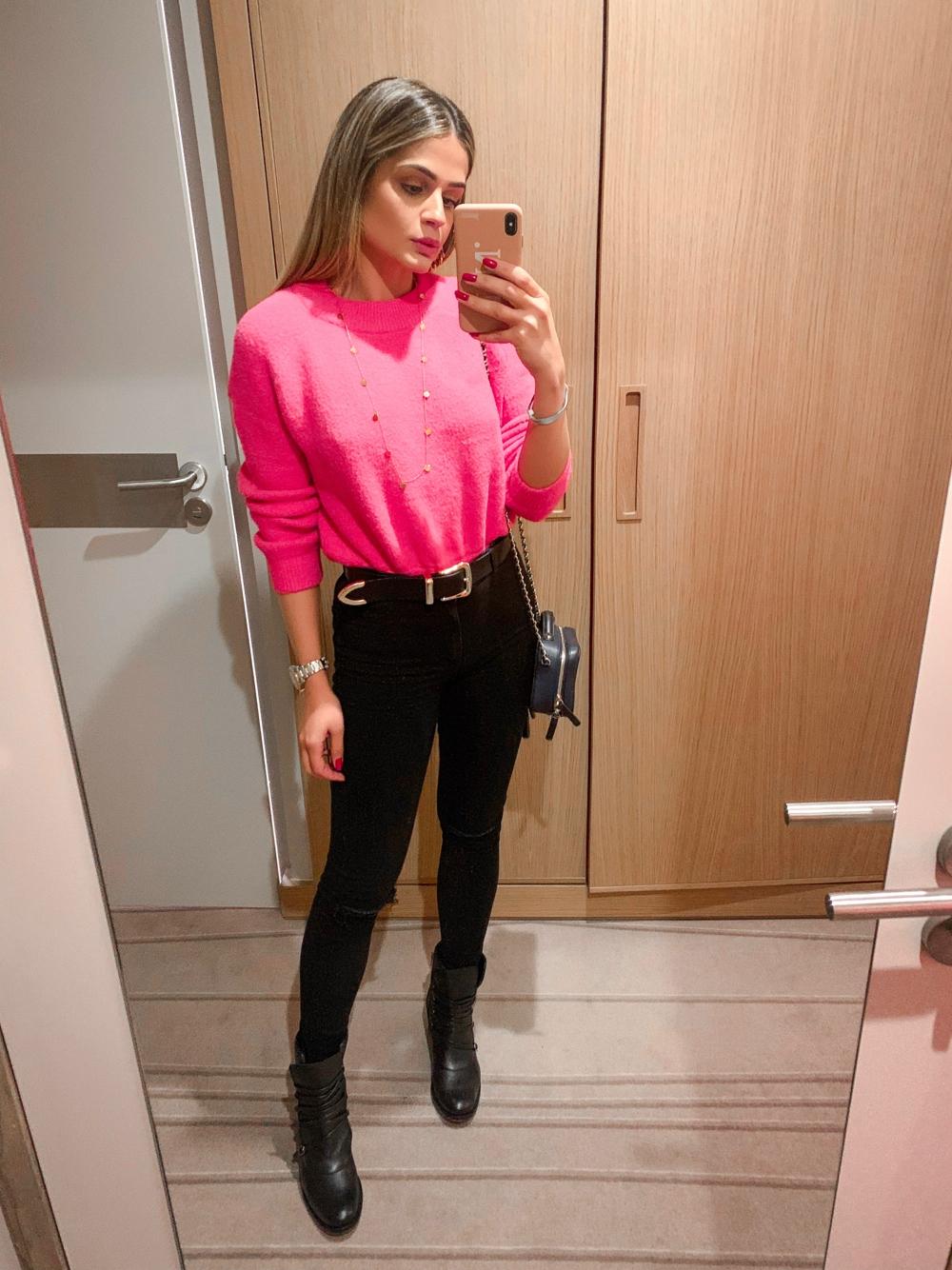 Thássia malha pink 12