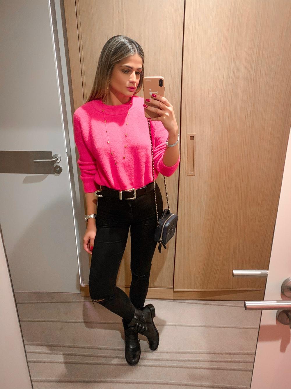 Thássia malha pink 22