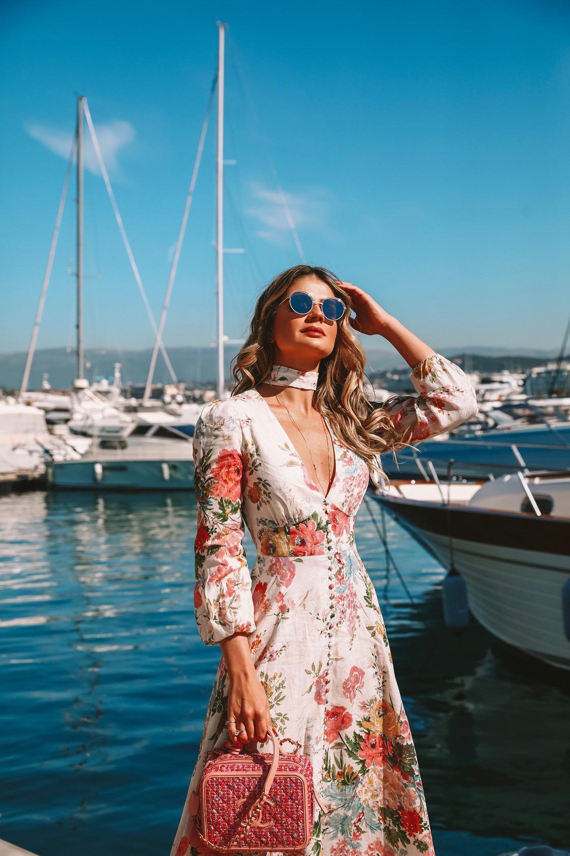 Thássia Cannes vestido zimmermann 5