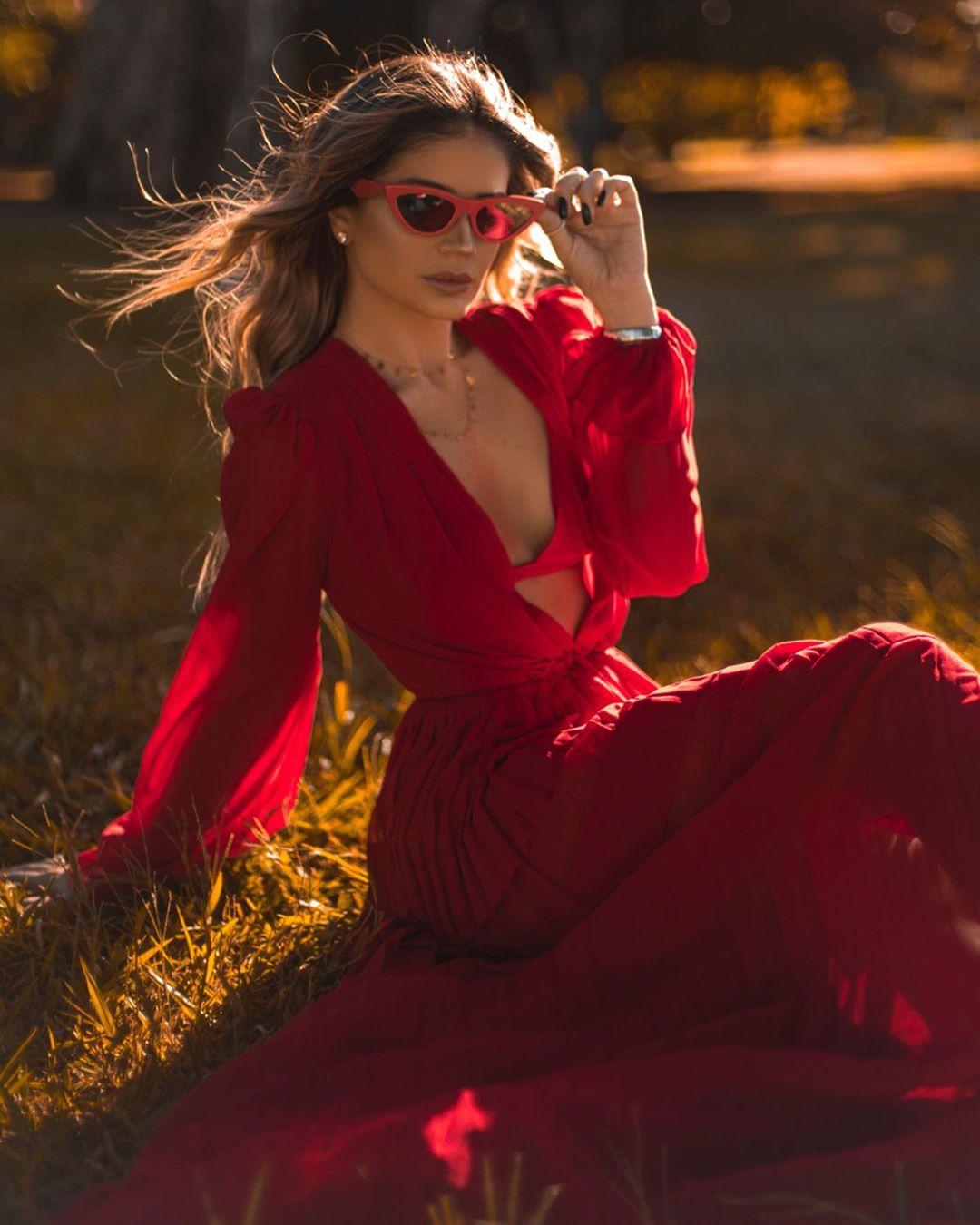 thássia agilita vestido vermelho 2